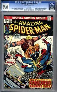 Amazing Spider-Man #126  (1973) Harry Osborn Becomes Green Goblin CGC 9.6 White
