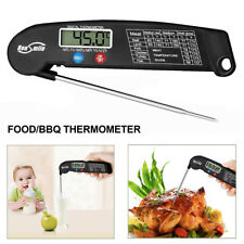 Instant Read Digital Meat Thermometer BBQ Grill Smoker Kitchen Food Cooking Tool