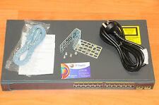 Cisco WS-C2960-24TT-L 24-Port 10/100 Switch w/Racks 6MthWtyTaxInv