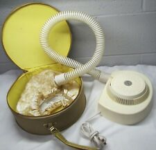 Vintage Mid Century Lady Vanity Deluxe Hair Dryer & Nail Dryer Bonnet & suitcase