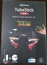 Equinux Tubestick Hybrid TV Tuner Mac & Windows Watch. Chat. Record. Go. ATSC