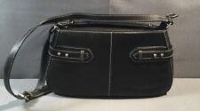Etienne Aigner Black Genuine Leather Shoulder Bag/Purse