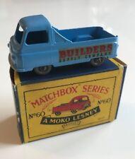 Matchbox Lesney No.60 – Morris J2 Pick-up-en Caja Original
