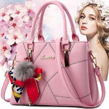 Women Leather Handbags Shoulder Purse Messenger Satchel Crossbody Tote Bags