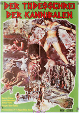 Filmplakat Todesschrei der Kannibalen-Savage Terror-Los Primitivos 1978