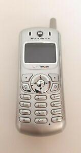 Motorola C343  IHDT56CL1 Mobile Phone Verizon for parts UNTESTED no cord #1F97