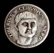 MEDAGLIA - TIBERIUS CLAUDIUS NERO - LE GRANDI FIGURE DI ROMA - 1980