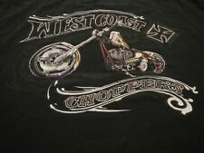 vintage west coast choppers jesse james t shirt mens 3xl motorcycle biker