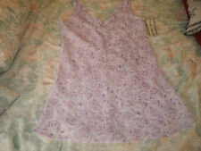 Secret Treasures ladies purple floral night gown new with tags size small