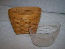 2000 Longaberger Oregano Booking Basket with protector