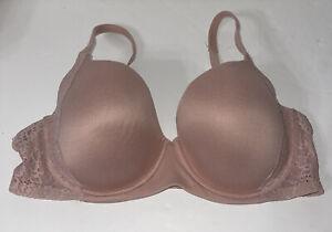 Secret Treasures Essentials T Shirt Bra 40C Pink Underwire