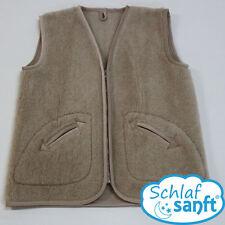 Damenwesten aus Wolle mit Reißverschluss