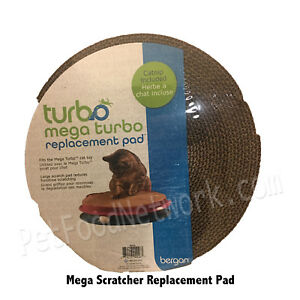 Bergan Turbo Mega Turbo Replacement Pad Catnip Included  Free Shipping