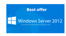 Windows Server 2012 Remote Desktop Service RDS 50 User Cals