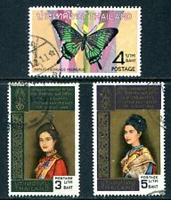 Thailand 1968 Used Lot with #512, 515, and 516