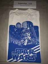 Adidas Retro Star Wars Rare T Shirt Large A New Hope Luke Skywalker Darth Vader