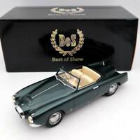 BOS Models Lancia Aurelia PF200 Cabriolet By Pinrifarina 1953 Green BOS262 1/18