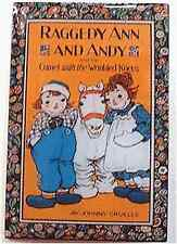 Raggedy Ann Pin & Andy Camel Book Cover Storybook Lapel Offset Print Collector