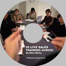 Auto Sales Training - NEW 20 Live Sales Training Audios