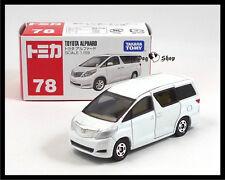TOMICA #78 TOYOTA NEW ALPHARD 1/59 TOMY GIFT TOY CAR White