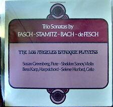 Trio Sonatas by Fasch, Stamitz, Bach, de Fesch   Crystal Sealed