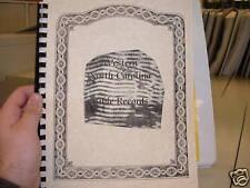 Western North Carolina NC Bible Records Buncombe Genealogy Book Births Deaths ++