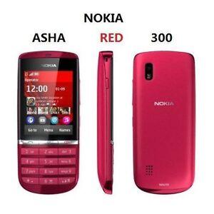 "Original Refurbished N300 Unlocked Nokia Asha 300 5MP Camera 3G Phone 2.4"" MP4"