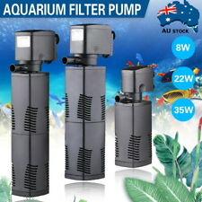 3 in 1 Multi-Function Aquarium Fish Tank Internal Filter Submersible Water Pump