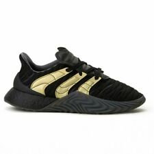 ADDIDAS Sobakov Boost Black and Gold Sneakers