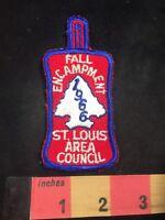 Vtg 1966 Fall Encampment ST. LOUIS AREA COUNCIL BSA Boy Scouts Patch 89V1