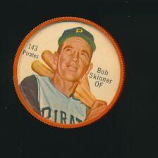 1962 Shirriff Canadian Plastic Coin Baseball RARE #143 Bob Skinner Pirates
