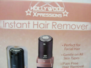 Black & Gold Portable Lip Stick Instant Hair Shaver-Hollywood Expressions Brand