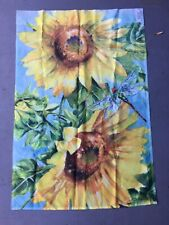 Large Outdoor SunFlower Flag 24� x 35� 🌻double sided