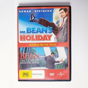 Mr Beans Holiday & Bean Movie DVD Region 4 AUS Free Postage - Comedy