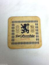 Der Lowenbrau beer coaster bar coasters 1 Premium Pils imported Germany bier AL2