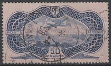 "FRANCE AERIEN 15 "" AVION CAUDRON SIMOUN 50F BURELAGE ROSE1936"" OBLITERE TB  N297"