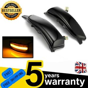 For Volvo S80 2007-2013 Dynamic Turn Signal Lights Side Mirror Indicator Lamp FR