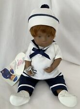 "Rare GOTZ 2001 Sasha Doll Lena MINT 12"" Baby Girl Red Hair And Brown Eyes"