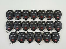 LOT OF 20 GMC CHEVROLET CADILLAC BUICK 07-17 OEM KEY LESS ENTRY REMOTE GM FOB US