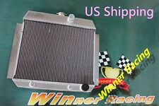 Aluminum Radiator Fit CHEVY CAR/SEDAN W/350 V8 OR WINDSOR V8 SWAP A/T 1949-1954