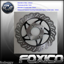 216mm BRAKE DISC Foxico Dirt bike quad bike pit bike atv utv buggy part
