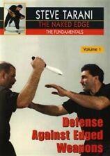 Naked Edge #1 Defense Against Edged Weapons knife blade Dvd Steve Tarani