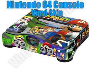 Choose 1 Vinyl Skin For the Nintendo 64 Console + Controllers - Free US Shipping