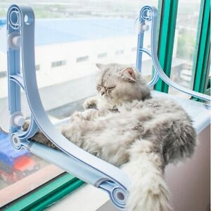 Cat Window Mounted Sunshine Bed Pet Wall Pet Home Suction Cups Conservatory New