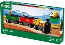 Brio Safari Train, 3 Piece Toy Train Accessory for Kids Age 3 and Up, 33722