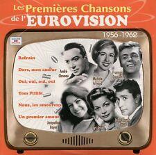 Les Premières Chansons de l'Eurovision (E.S.C.) : 1956 - 1962 (CD)