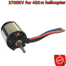 NEW 2835mm 3700KV Brushless Motor for Align Trex 450 RC Remote Helicopter Heli U