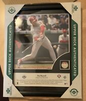 Pat Burrell - Upper Deck Authentic Piece of the Action - Photo & Game Used Ball