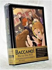 Baccano! LIMITED EDITION (Blu-ray, 2010, 3-Disc) NEW immortal alchemists anime