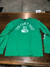 ABECROMBIE & FITCH - BRAND NEW GREEN  LONG-SLEEVE T-SHIRT - SIZE TEEN LARGE